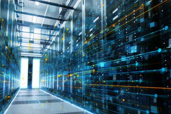 úvodní stránka - datová centra